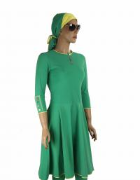 Front-Brazil modest swim dress